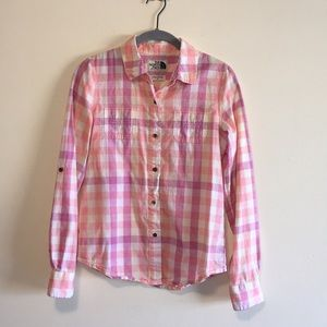 The North Face women's outdoor button up shirt